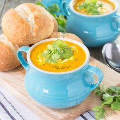 How to Make Low Fat Carrot and Coriander Soup