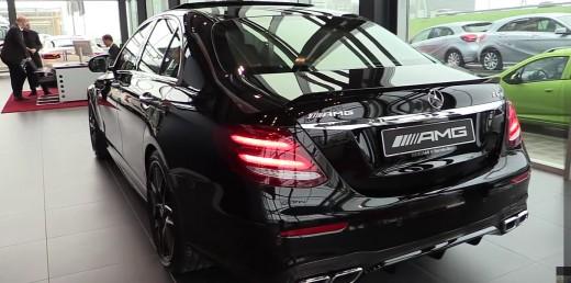 Mercedes Benz Amg E63 S