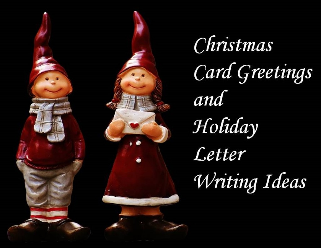What To Write In Christmas Cards And Holiday Letters To Friends And