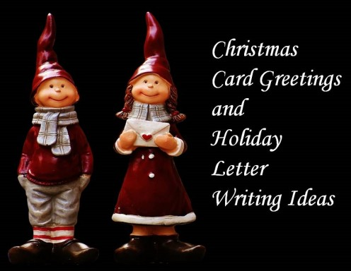 What to Write in Christmas Cards and Holiday Letters to Friends and Family