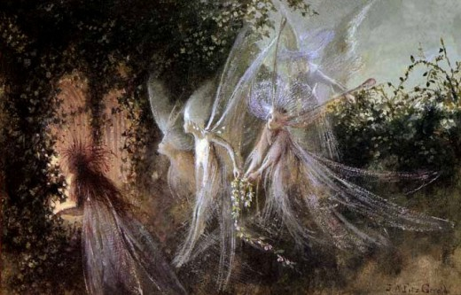 Fairy guides were once called familiars and associated with witches centuries ago.