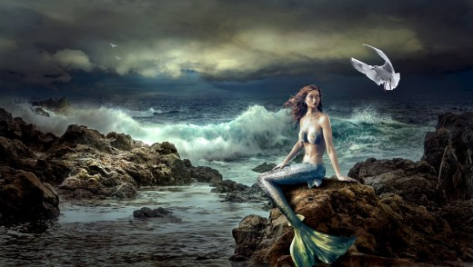 Mermaids can be totems and guides to those who are magical and emotional in nature.