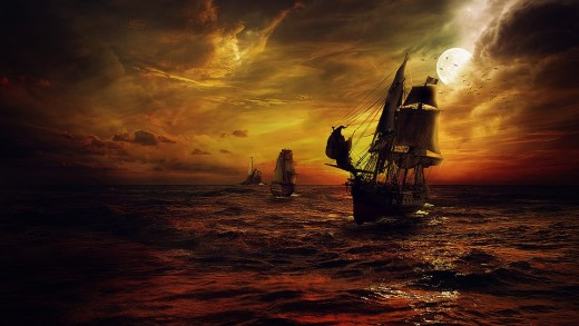 Sam Bellamy was the Prince of Pirates, who fell in love with the Witch of Wellfleet...