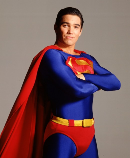 "Dean Cain as Superman on ""Lois & Clark: The New Adventures of Superman"""