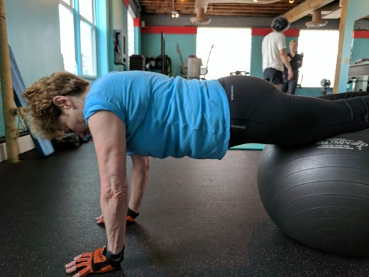 Combining core, balance and strength