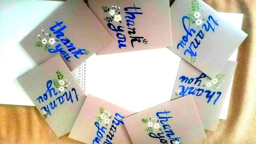 """Wow. Set of """"Teachers Day Cards"""" made by me"""
