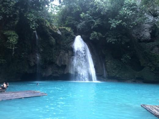 Kawasan Falls, also on Cebu
