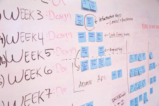 Project timelines can turn your idea into a functional product.