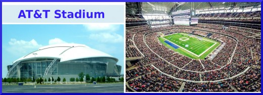 AT&T Stdium - Home of The Dallas Cowboys!
