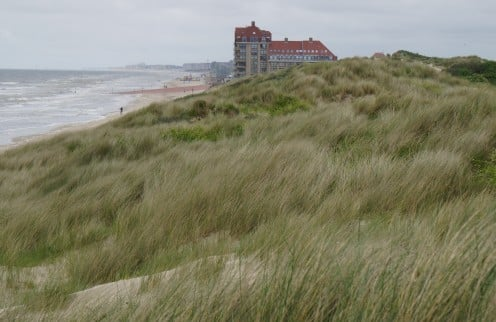 Bray-Dunes seen from Dune Marchand