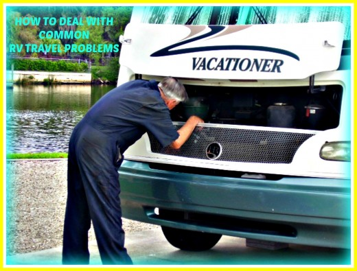 Learn how to recognize and deal with every day RV travel problems.