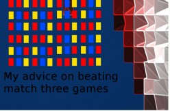 My Advice on Beating Levels in Match Three Games