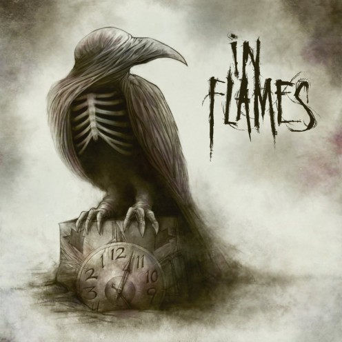 The album cover for the album shows a picture of a crow sitting on a clock that is not functioning. The talent for the band In Flames has not faded at all.