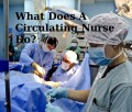Operating Room Nursing: What Does A Circulator Do?