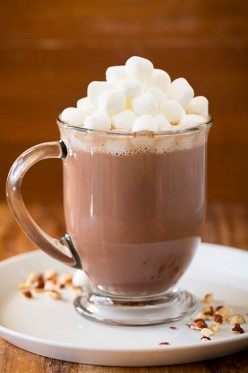Simple hot cocoa for two