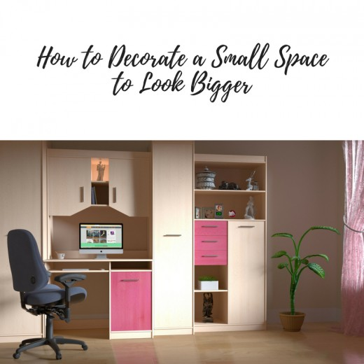 Make a small space look larger with these decorating tips!