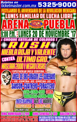 So Close Yet So Far: News and Notes from CMLL Puebla