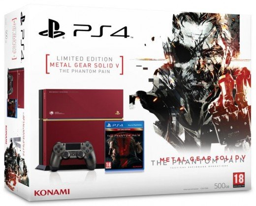 The PlayStation 4 Console - The Metal Gear Solid V Exclusive Edition