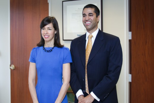 FCC Commissioners - Jessica Rosenworcel and Ajit Pai