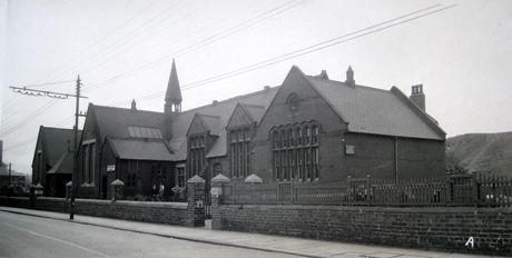 South Eston Junior School, Guisborough Street, Eston - near the California 'bonanza' estate that began Eston's fortunes from 1850-1949 when Trustee Drift Mine closed.