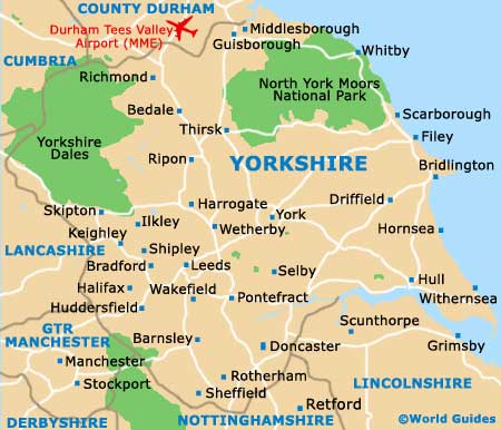 Yorkshire as it is now, the Ridings went in 1974 in local government re-shuffles. Unpopularity of the moves saw some re-constituted although the East Riding lost land to North Yorkshire, as did the West Riding and South Yorkshire's a bugbear