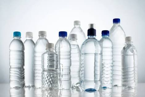 Plastic bottles, a product of metallurgical and materials engineering.