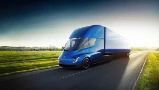 Tesla truck that can haul 80,000 pounds.