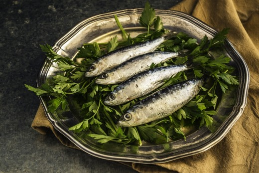 Sardines and Olive Oil keep us healthy