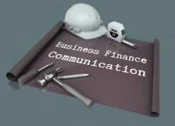 Small Business Finance Communication