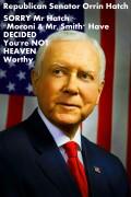 """How Will Decrepit GOP Sen. Orrin Hatch Explain 2 GOD WHY He """"CONSPIRED 2 Slash"""" Essential Medicare?"""
