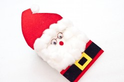 How To Make A Santa Card