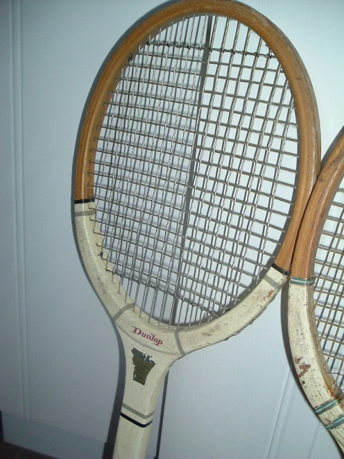 Champion Racquet of Long Ago!