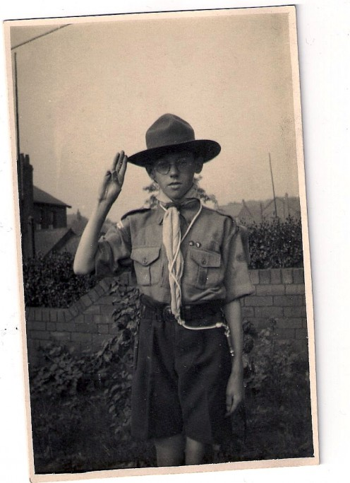 Dad as a Scout