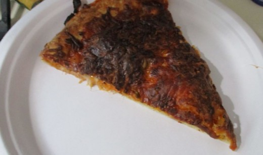 that blackened cheese just adds to the flavor.