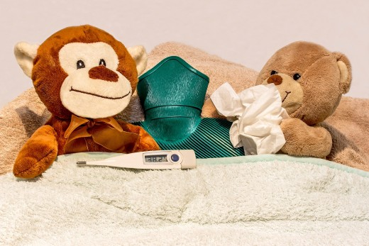 Sniffling and sneezing at work is not cute, unless you are a teddy bear. Consider the health and well-being of the people you work with before you decide whether or not you should go in to work.