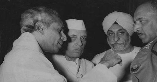 Krishna Menon and Nehru