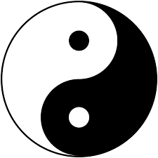 The Yin / Yang symbol can be used to visualize the alternation of order and chaos as well as any dualistic concepts.