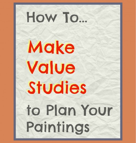 A useful article about how to create an interesting composition using sketches to test out value and tone of your masses. Tips to plan a good painting.