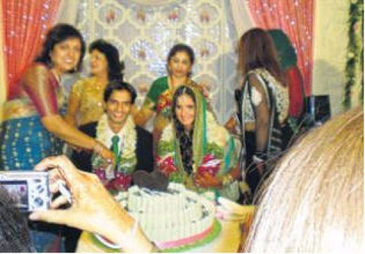 Private engagement function of Sania Mirza