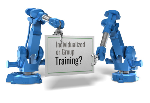 Group Training or Individualized Training?
