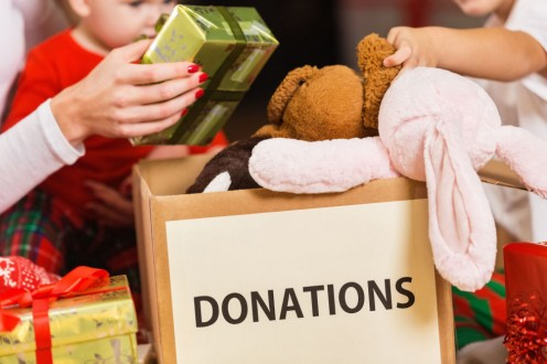 Donate a toy.