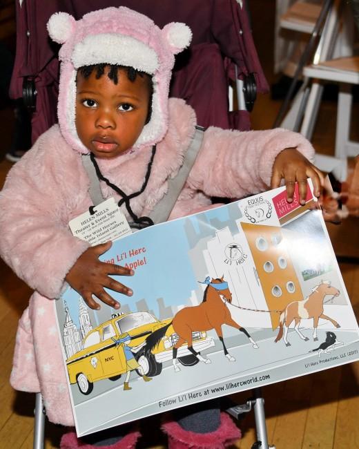 Tiny tots enjoyed the Li'l Herc Family Fun Fest, sponsored by Suzanne Kopp-Moskow.
