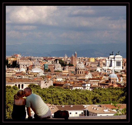 Romance in Rome, Italy