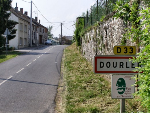 Dourles in France