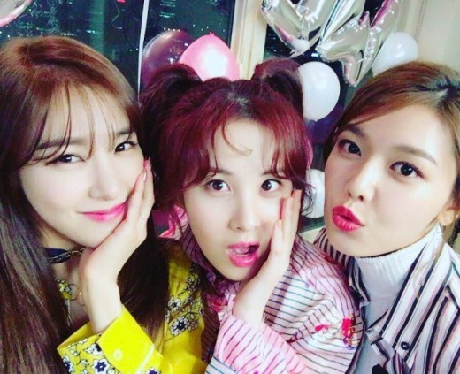 [From left to right] Tiffany, Seohyun, and Sooyoung decided not to renew their contracts with SM Entertainment.