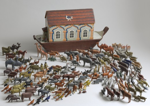19th-Century Noah's Ark Toy: Fair use permission granted by the museum