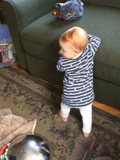 Post #9: Imogen Rose In December, at ten months of age