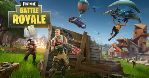 (Image - Fortnite: Battle Royale) - the no.1 battle royale video-game on the next-generation console systems - featuring free for all rule settings, with one life per game, and a total of 100 players spawning on the same large map, and work fast
