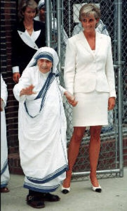 Mother Teresa and Princess Diana      from trubrits journal