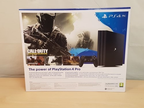 (Image - PS4 Pro box) - PS4 Pro allows for 4K gaming, and full HDR entertainment